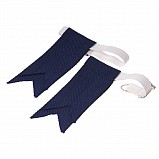Junior Flashes for Kilt Hose, Dark Blue