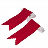 Junior Flashes for Kilt Hose, Red