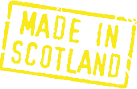 Hinweis: Made in Scotland
