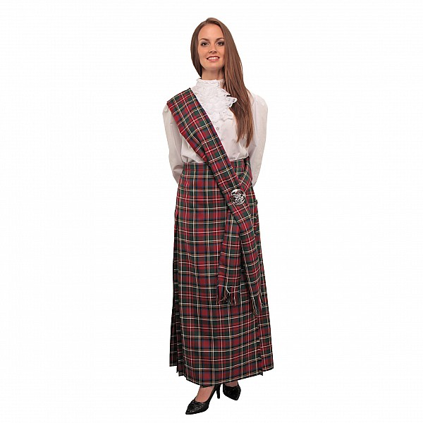 Creative Women39s Kilted Skirt In Favorite Tartans  SportKiltcom