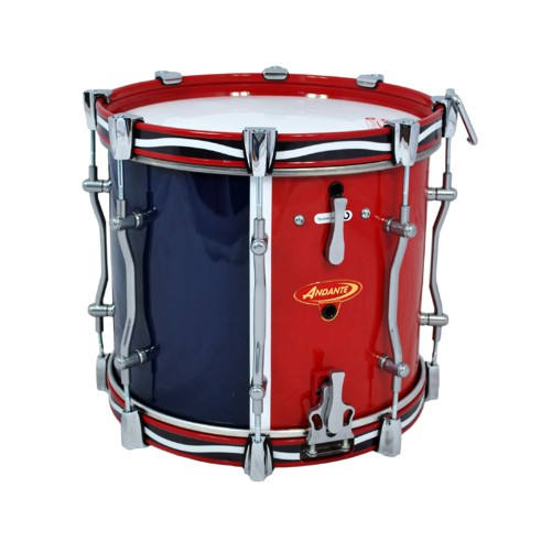 andante advance military snare drum 14 kilts more. Black Bedroom Furniture Sets. Home Design Ideas