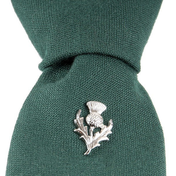 Highland thistle tie pin kilts more highland thistle tie pin ccuart Images