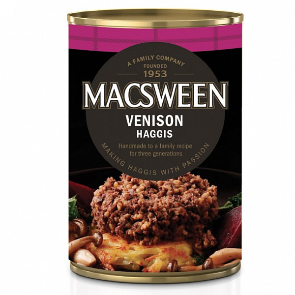 MacSweens traditionelle haggis now available in a can