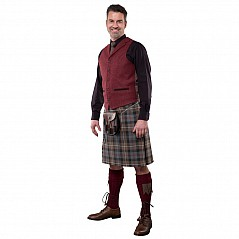 adf3a4c87 4 Yard Mediumweight Box Pleated Kilt. The oldest surviving tailored kilt  for which there is
