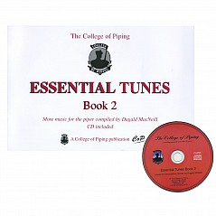 Essential Tunes Vol.2 with CD More music for the piper compiled by Dugald MacNeill (Table of contents)