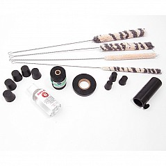 We recommend purchasing these items when you buy a set of bagpipes, it contains essential maitenance items. Incl. 1 x Bore Oil 1 x Set cleaning brushes for drones 1 x