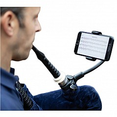 Piper's Advantage Bagpipe Phone Mount The Piper's Advantage Bagpipe Phone Mount for Smartphones, Tuners and Metronomes. The world's first bagpipe phone mount designed secifically for the