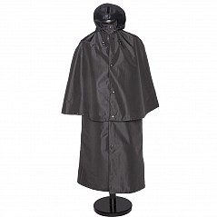Mister Antony Deluxe Breathable Inverness Cape with Hood Known as the Hooded Deluxe Cape, this superior quality 3-layer breathable fabric is with a special TEFLON coating! The advantage of