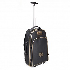 The R.G. Hardie Piper Flight Case is a lightweight trolley and back-pack case designed to take bagpipes as hand luggage on airlines. The case provides excellent protection with a reinforced