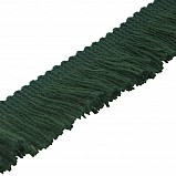 Fringing for Bagpipe Cover, bottle green