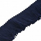Fringing for Bagpipe Cover, navy